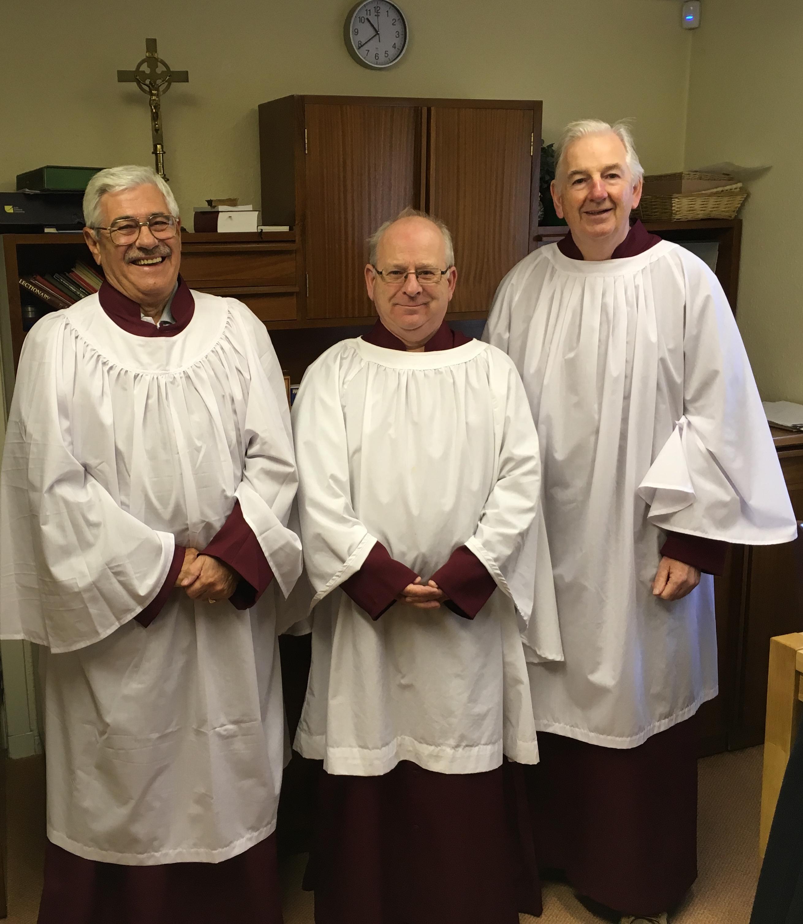Senior Altar Servers